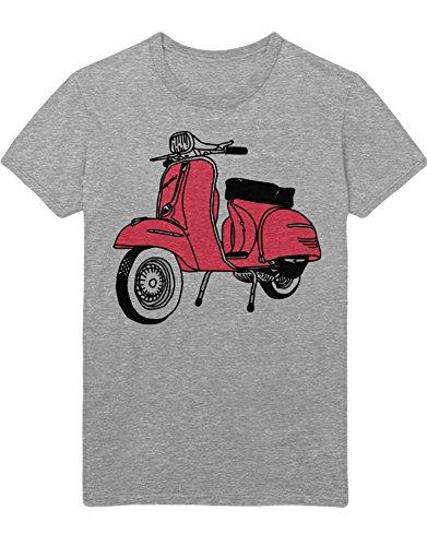 T-Shirt Pink Scooter H123343 Grau M