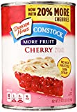 Duncan Hines Comstock More Fruit Pie Filling & Topping, Cherry, 21 oz