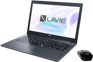 NEC 15.6型 ノートパソコン LAVIE Note Standard NS150/KAシリーズ カームブラックLAVIE 2018年 夏モデル[Celeron/メモリ 4GB/HDD 1TB/Office H&B 2016] PC-NS1...