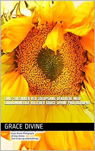 Gule solsikker ved solopgang dekorere med guddommelige billeder Grace Divine Photography (Danish Edition)