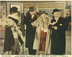 THE V.I.P.S MARGARET RUTHERFORD ORSON WELLES LOBBY CARD