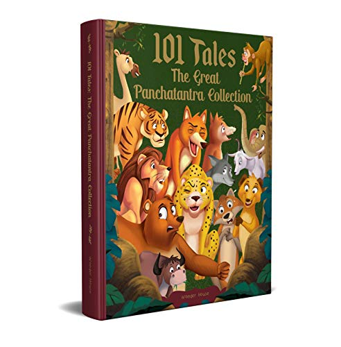 101 Tales The Great Panchatantra Collection - Collection Of Witty Moral Stories For Kids For Personality Development (Hardback)