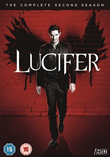 Lucifer - Season 2 (DVD) [UK Import ohne deutsche Sprachfassung]