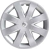 Juego de 4 tapacubos para ruedas de 15 pulgadas para Clio desde 2008 en adelante, no originales 9317