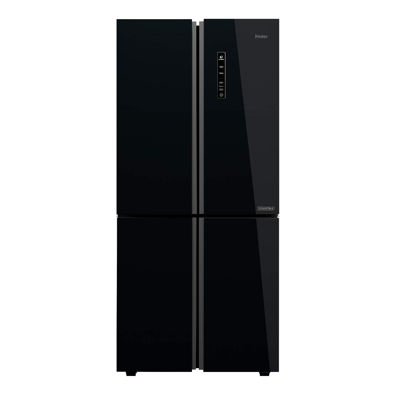 Haier 531 L Inverter Frost-Free Side-by-Side Refrigerator (HRB-550KG, Black,Convertible)