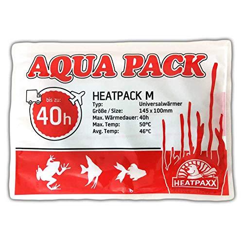 HeatPaxx Universalwärmer | HeatPack M 40h | AquaPack | Transportwärmer | Tier- & Pflanzenversand | 10 cm x 13 cm | 40 Stunden Wärmedauer (1)