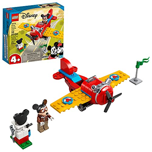 LEGO Disney Mickey and Friends Mickey Mouse's Propeller Plane 10772...