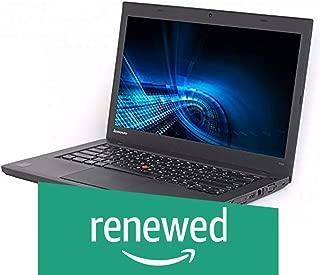 (Renewed) Lenovo Thinkpad T440 14-inch Laptop (Intel Core I5/8GB/500GB/Windows 10/Integrated Graphics), Black