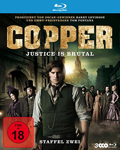 Copper - Justice Is Brutal/Staffel 2 [Blu-ray]