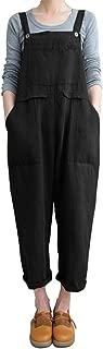 Women's Casual Jumpsuits Overalls Halloween Costume Baggy Bib Pants Plus Size Wide Leg Rompers