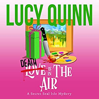 Death Is in the Air audiobook cover art