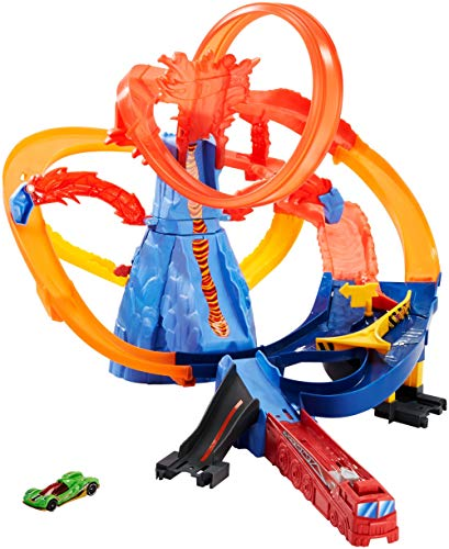 Mattel Hot Wheels FTD61 Volcano Highway Trackset
