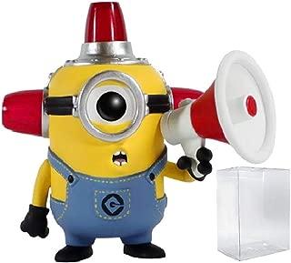 Despicable Me Funko Pop 2 - Fire Alarm Minion Funko Pop! Vinyl Figure (Includes Compatible Pop Box Protector Case)