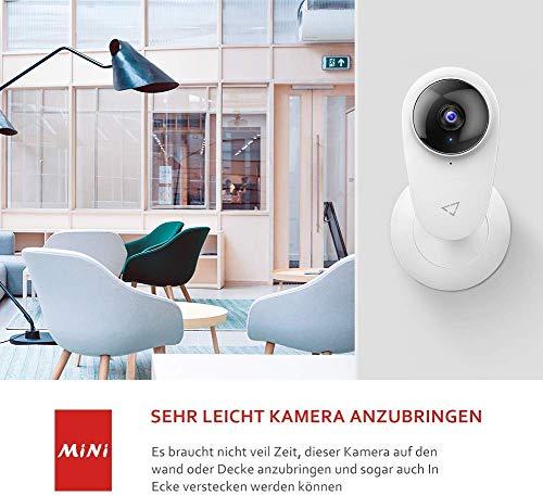 Victure 1080P 2 Stück Baby Kamera, WLAN Kamera Überwachungskamera Set, Babyphone mit APP, 2.4GHz Innenkamera mit Bewegungserkennung, Nachtsicht, Zwei-Wege-Audio Kompatibel mit IOS/Android
