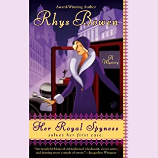 Her Royal Spyness audiobook cover art