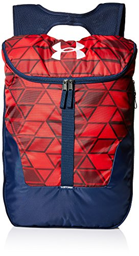 Under Armour Expandable Sackpack, Red (601)/White, One Size Fits All