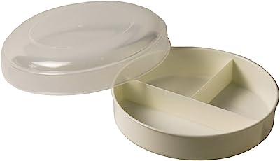 蝶プラ工業 弁当箱 ランチプレート ホワイト 263539