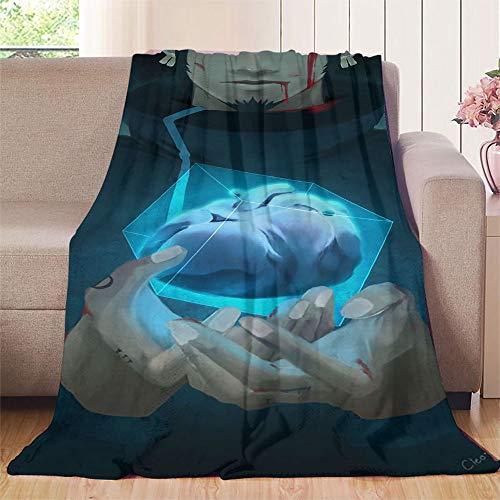 XavieraDoherty Einteilige Anime Trafalgar·Law Outdoor-Decke 150 x 200 cm (B x L), angenehm weiches Material, für guten Schlaf.