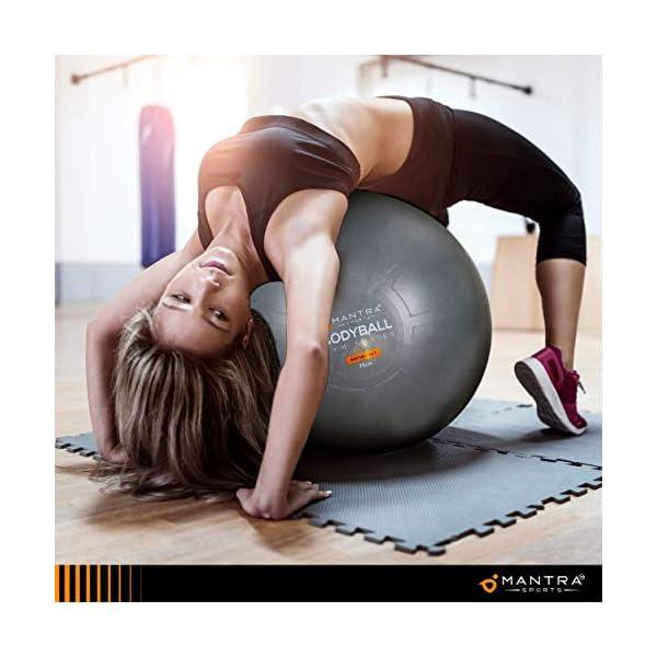 Gymnastikball Pilates Ball Sitzball Buero 55cm 65cm 75cm Geburtsball Fuer Schwangerschaft Balance Yoga Fitness Berstsicher Pezziball Mit Widerstandsbaender Stabilitaetsbasis Poster Pumpe