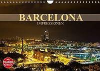 Barcelona Impressionen (Wandkalender 2022 DIN A4 quer): Kommen Sie mit auf eine Reise in die katalanische Metropole Barcelona (Geburtstagskalender, 14 Seiten )