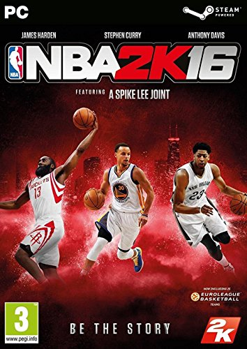 NBA 2K16 [PC Code - Steam Code] Boxed Version UK IMPORT