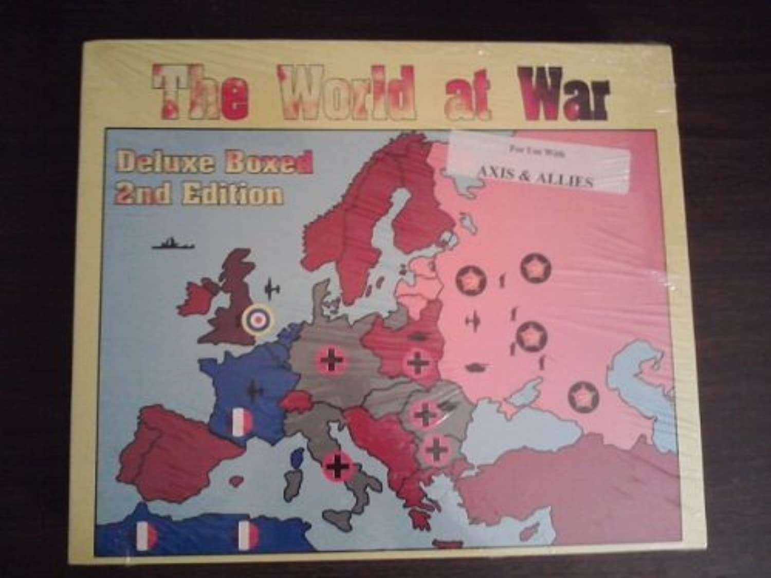 The World at War  Deluxe Boxed 3rd Edition  Expansion for Use with Axis & Allies