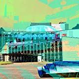 StadtKUNST - das Original Bild auf Aluminium Kassel Staatstheater Format 37x37