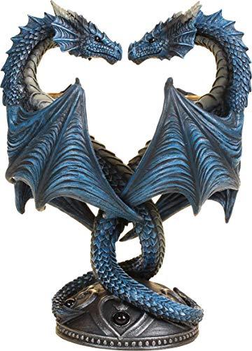 Skulptur Drachenherz von Anne Stokes –23cm