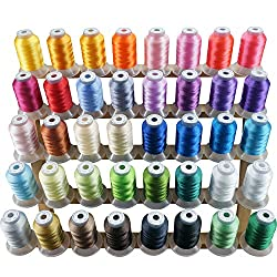 New Brothread 500Y 40 Colors Polyester Thread
