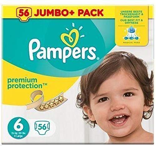 Pampers 81686986 Premium Protection windeln, weiß