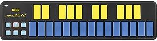 Korg NanoKEY2 Keyboard Controller - Blue Yellow Limited Edition