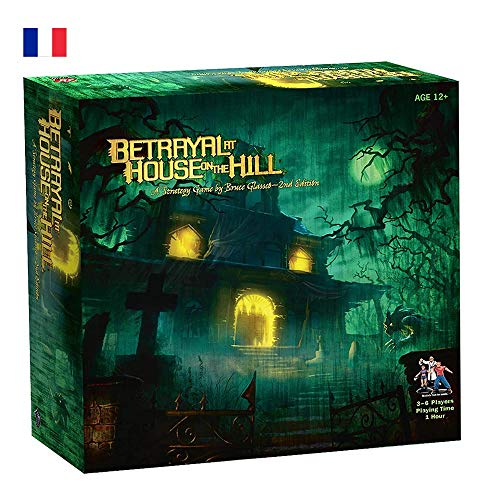 Betrayal at House on The Hill - Asmodee - Board Game - Adventure Game - Scary / Horror