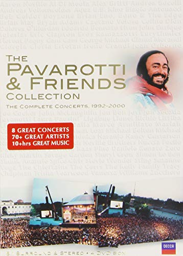 Locandina Luciano Pavarotti: Pavarotti And Friends: The Collection (4 Dvd)
