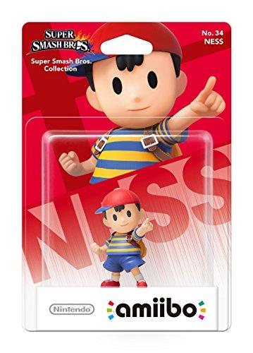 Figurine amiibo - n°34 - Ness [Collection Super Smash Bros.]