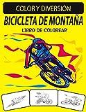 BICICLETA DE MONTAÑA LIBRO DE COLOREAR: Un excelente libro para colorear de bicicletas de montaña para niños pequeños, preescolares y niños