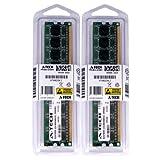 A-Tech 2GB Kit (2X 1GB) DDR2 533MHz PC2-4200 240-pin DIMM Desktop Computer Memory RAM Modules
