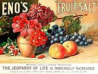 イーノの果物 金属板ブリキ看板警告サイン注意サイン表示パネル情報サイン金属安全サイン
