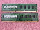 Samsung M378B5673FH0-CH9 4GB 2 x 2GB PC3-10600U DDR3 1333 Desktop Memory Kit