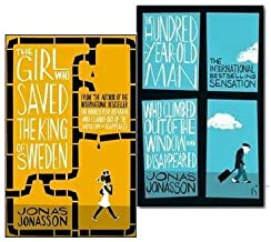 Jonas Jonasson 2 Books Collection Set, The Hundred-Year-Old Man Who Climbed Out of the Window and Disappeared and The Girl...