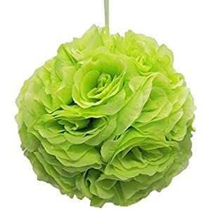 Ben Collection 10″ Flower Rose Kissing Ball Multi Color Home Wedding Decoration