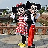 Mascotte Coppia Topolino e Minnie