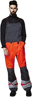 Helly Hansen Mens Alna Hi Visibility Workwear Coverall Dungarees Bib