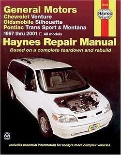 Haynes General Motors: Chevrolet Venture, Oldsmobile Silhouette, Pontiac Trans Sport and Montana (97-05) Manual (38036)
