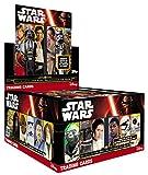Topps Star Wars Journey to Star Wars - Expositor con paquetes de cartas (50 unidades, en alemán)