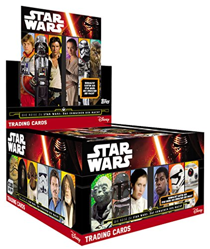 TOPPS - Star Wars - Journey to Star Wars - Display (50 Booster) - Deutsch
