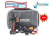 Aetertek 919C-2 1100 Yard 10 Level 2 Dogs Training Anti Bark & Waterproof Collar