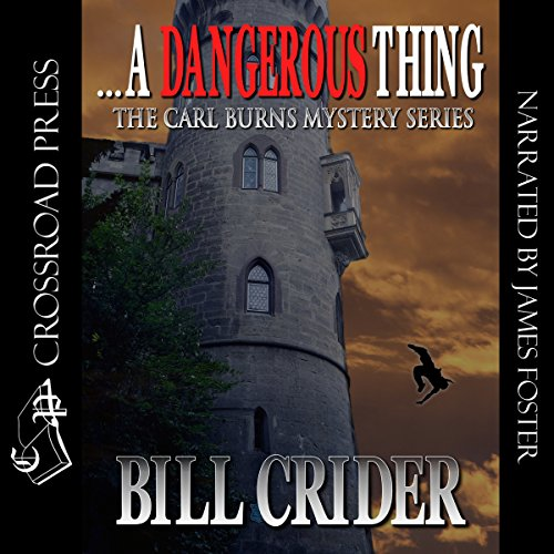 ...A Dangerous Thing audiobook cover art