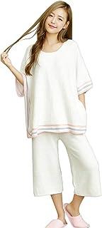 Luanna Jena ルームウェア レディース パジャマ ポンチョ 七分丈 2点セット QW629