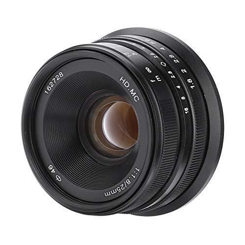 Lente de cámara de Enfoque de 25 mm / f1.8, cámara sin...