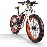 Bicicleta eléctrica Adulto bicicleta eléctrica / 1000W48V17.5AH batería de litio de 26 pulgadas Fat Tire MTB, masculino y femenino Fuera de carretera bicicleta de montaña, 27...